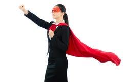 Super kierownika pracownik przygotowywający latać zdejmował Obraz Royalty Free