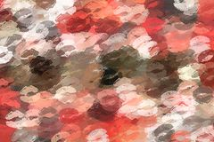 Super kiss abstract background Royalty Free Stock Photography
