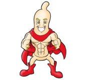 super kondoma. royalty ilustracja
