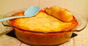 Super Lasagna Royalty-vrije Stock Afbeeldingen