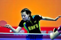 Super League di ping-pong della Cina Immagine Stock Libera da Diritti