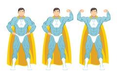super śliczny postać z kreskówki bohater Fotografia Stock
