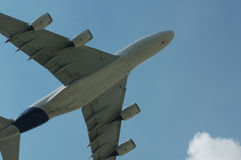 Super Luchtbus A380 Royalty-vrije Stock Afbeelding