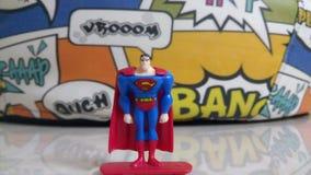 Super mężczyzna zabawka zdjęcia stock