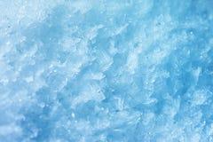 Super macro die van ijs/de achtergrond van de winter wordt geschoten royalty-vrije stock foto's