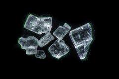 Super macro of a sugar crystals Stock Image