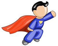 Super man icon Royalty Free Stock Photos