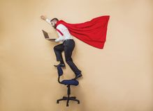 Super manager Royalty Free Stock Photos
