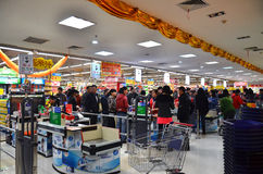 Free Super Market Royalty Free Stock Image - 22014426