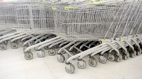 Super market cart Royalty Free Stock Images