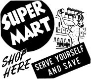 Super Mart Stock Photography