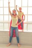 Super matka i córka zdjęcia royalty free