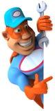 Super mechanic Royalty Free Stock Photography