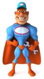 Super mechanic Royalty Free Stock Image