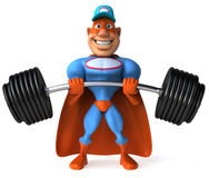 Super mechanic Royalty Free Stock Images