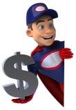 Super mechanic Stock Image