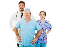 Super Medical Staff Stock Image