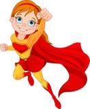 Super Meisje Royalty-vrije Stock Afbeeldingen