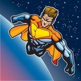 Super mens die 3 vliegt Stock Foto