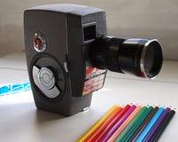 Super8 Millimeter f Stockfotografie