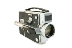 Super 8mm ekranowa film kamera fotografia stock