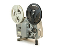Super 8mm Ekranowy projektor 02 Obraz Royalty Free