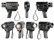 Super-8mm solide Filmkamera Lizenzfreies Stockfoto