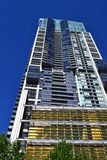 A Super Modern Building Towering in Sydney. Royalty Free Stock Image