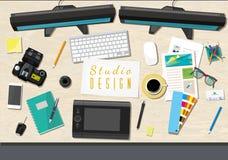 Super modern office Stock Photos