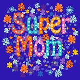 Super mom Royalty Free Stock Photography