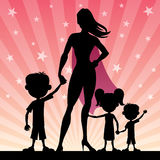 Super Mom 2 Stock Images