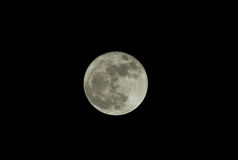 Super moon as seen from Maine Stock Photography