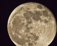 Super Moon--Perigee in May 2012 Royalty Free Stock Photography