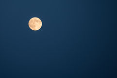 Super Moon Rise Stock Image