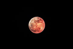 Super moon, shot from Thailand Royalty Free Stock Photos