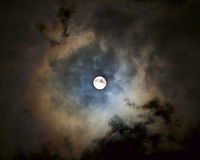 Super Moon Royalty Free Stock Photography