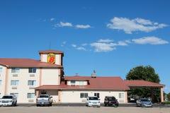 Super 8 motel obrazy stock