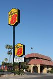 Super 8 motel Royalty Free Stock Photo