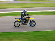 Super Moto. Motorcycle Royalty Free Stock Image