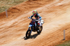 Super Moto off-road race. Thomas Chareyre. Stock Photo