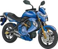 Super Motorbike royalty free illustration