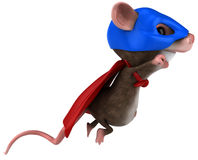 Super mouse Royalty Free Stock Photo