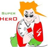 Super natural and urban hero vector illustration