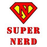 Super Nerd Royalty Free Stock Image