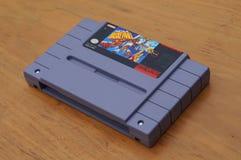 Super-Nintendo-Spielkassette NCAA-Basketball lizenzfreie stockbilder