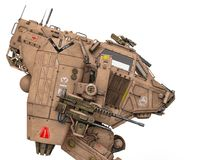 Super oorlogsmachine royalty-vrije stock afbeelding