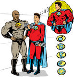 Super opleiding royalty-vrije illustratie