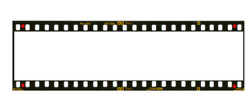 Super panoramic format negative picture frame Royalty Free Stock Photos