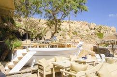 Super paradise beach, Mykonos, Greece Stock Photo