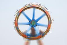 Super pendulum  in amusement park Stock Photos
